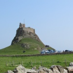 Lindisfarne from causeway