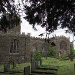 St. Beuno graveyard and church